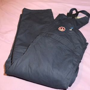 NWT Walls FR Flame Resistant Coveralls Navy Blue
